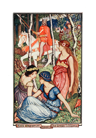 The Violet Fairy Book by Andrew Lang illustrated by H. J. Ford - 1