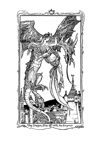 The Violet Fairy Book by Andrew Lang illustrated by H. J. Ford - 7