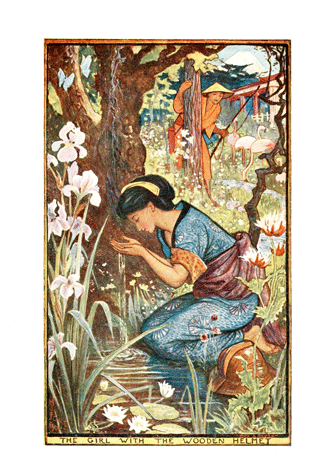 The Violet Fairy Book by Andrew Lang illustrated by H. J. Ford - 3