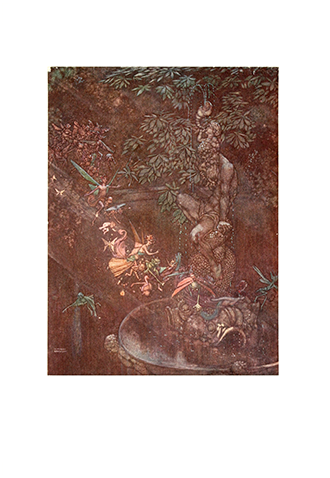Shakespeare Comedy Midsummer-Nights Dream - Illustrated by W. Heath Robinson