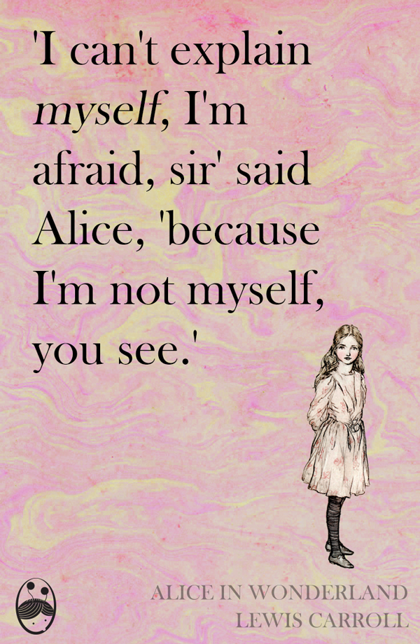 Alice In Wonderland Quotes Stunning Alice In Wonderland Quotes By Lewis Carroll Pook Press