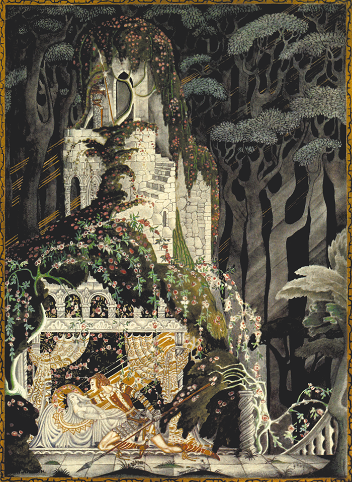 From Hansel and Gretel and Other Brothers Grimm Stories by KayNielsen
