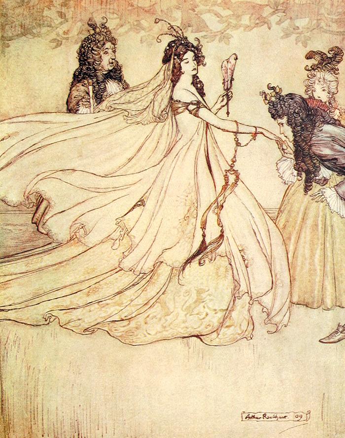 Fairy Tales of the Brothers Grimm illustrated by Arthur Rackham