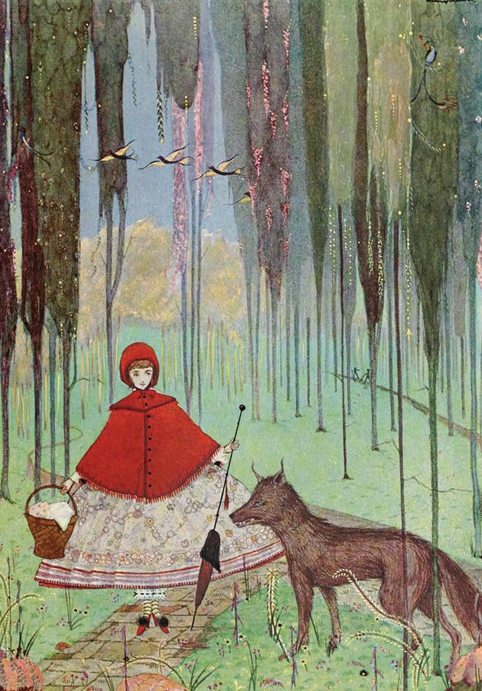 Little Red Riding Hood - Harry Clarke