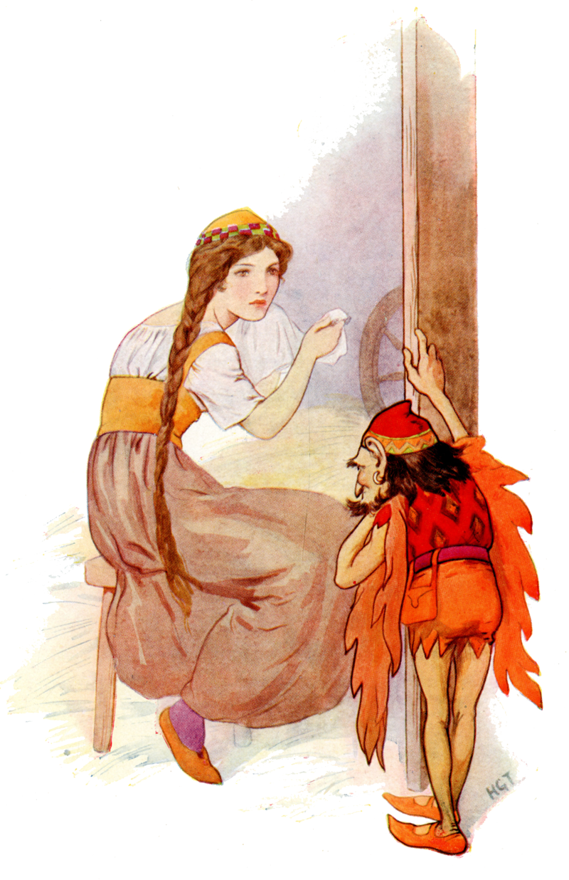 Rumpelstiltskin illustration by Harry G. Theckler