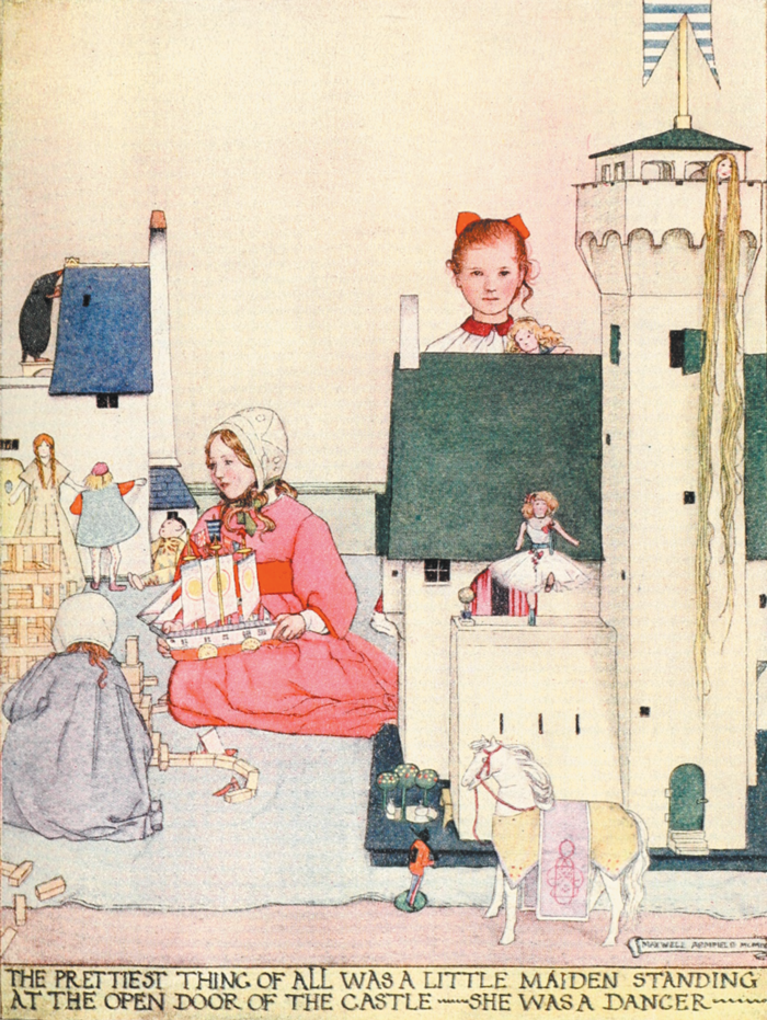 The Steadfast Tin Soldier illustration by Maxwell Armfield