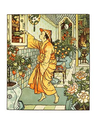 Aladdin's Picture Book - Illustrated by Walter Crane