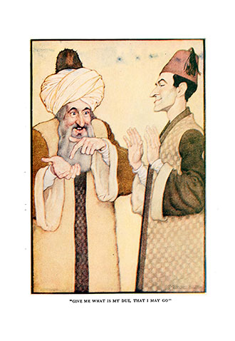 The Arabian Nights - Illustrated by Monro S. Orr