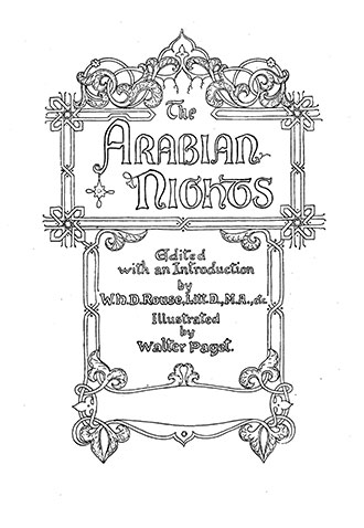 The Arabian Nights - Illustrated by Walter Paget