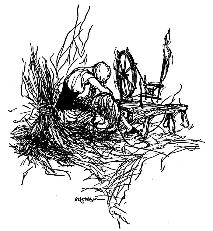 Rumpelstiltskin, Brothers Grimm, A. H. Whatson