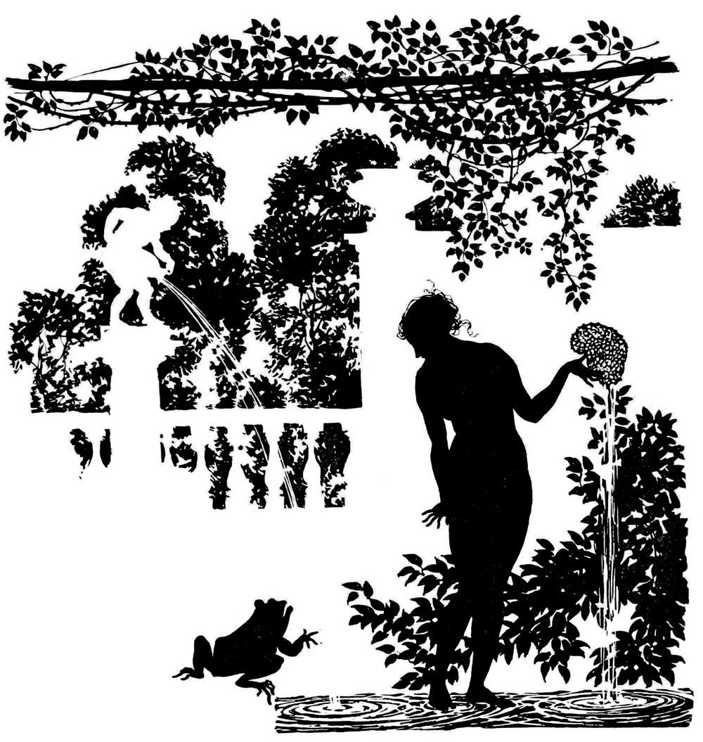 The Sleeping Beauty, 1920 illustrated by Arthur Rackham