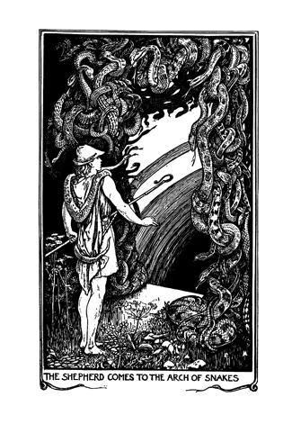 The Crimson Fairy Book Andrew Lang with illustrations by H. J. Ford