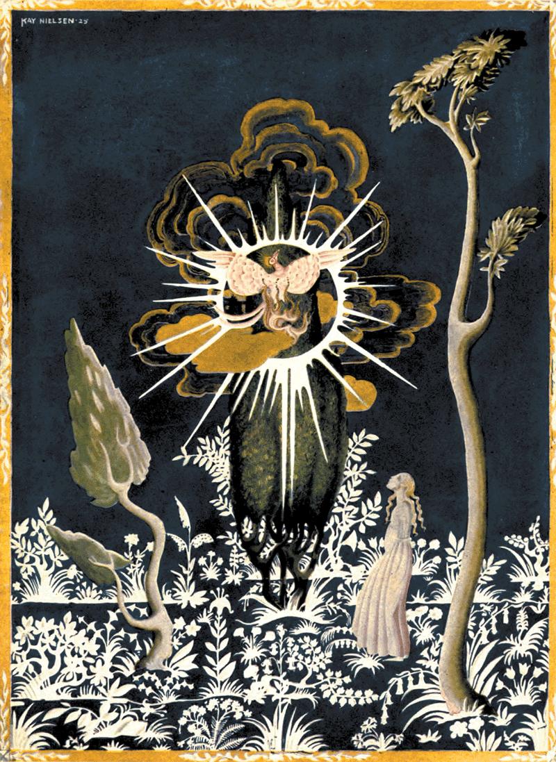 The Juniper Tree by Kay Nielsen