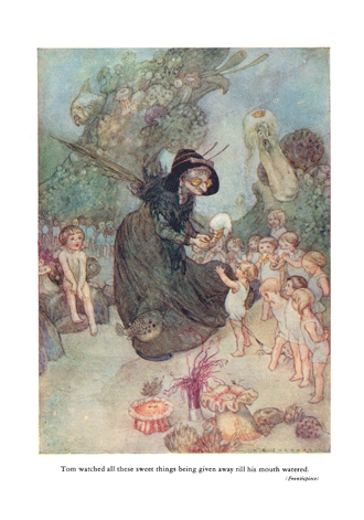 The Water Babies illustrated by A. E. Jackson