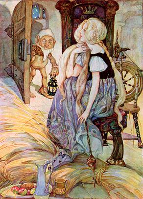 Rumplestiltskin by Anne Anderson,