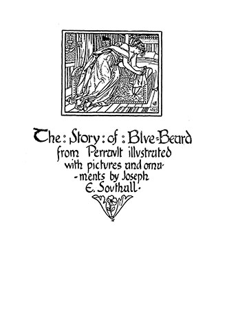 BlueBeard illustrated by Joseph Southall