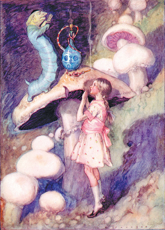 Alice's Adventures in Wonderland, A. E. Jackson, 1926.