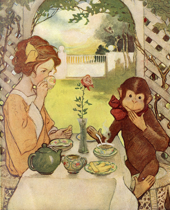 The Now-A-Days Fairy Book, Jessie Willcox Smith, 1922.