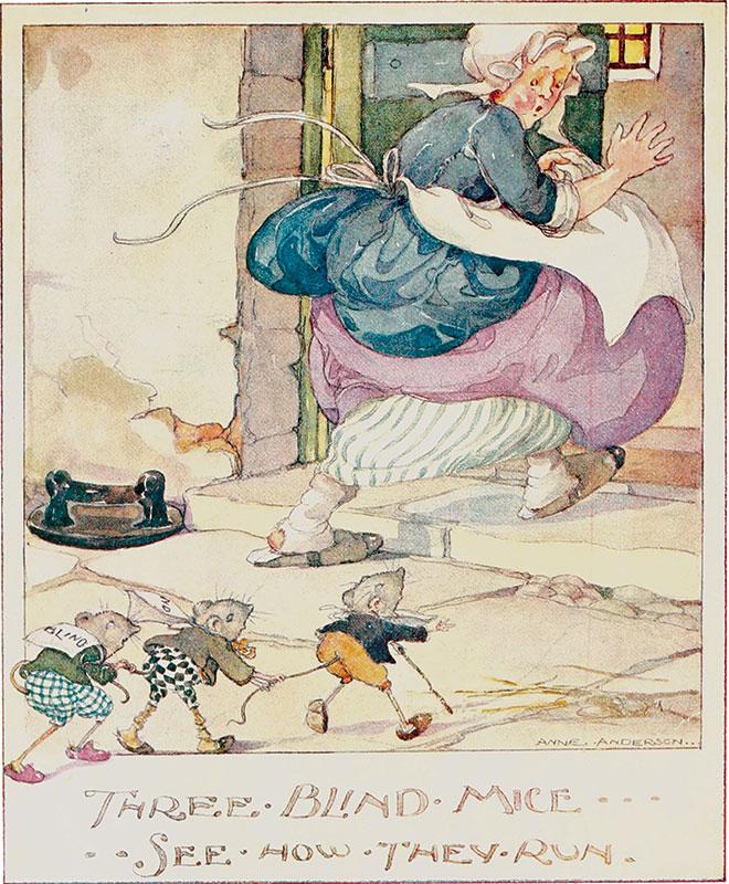 Old English Nursery Songs, Anne Anderson, c.1920.