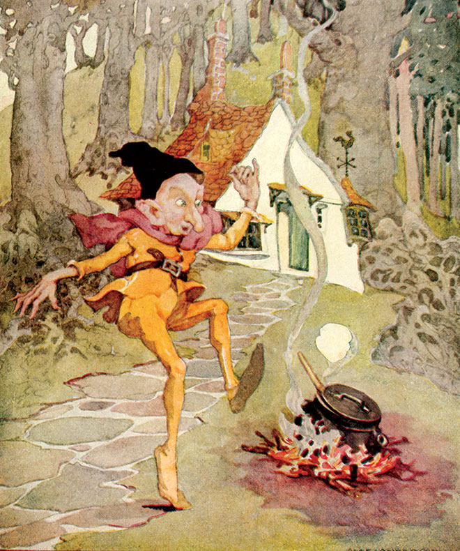 Old, Old Fairy Tales, Anne Anderson, 1935.