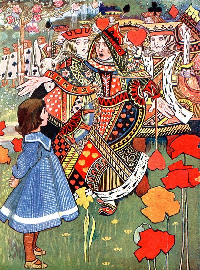 Alice's Adventures in Wonderland, Charles Robinson, 1907.