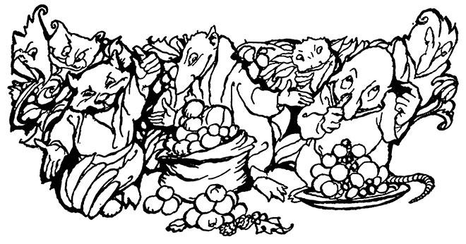 Goblin Market, Arthur Rackham, 1933.
