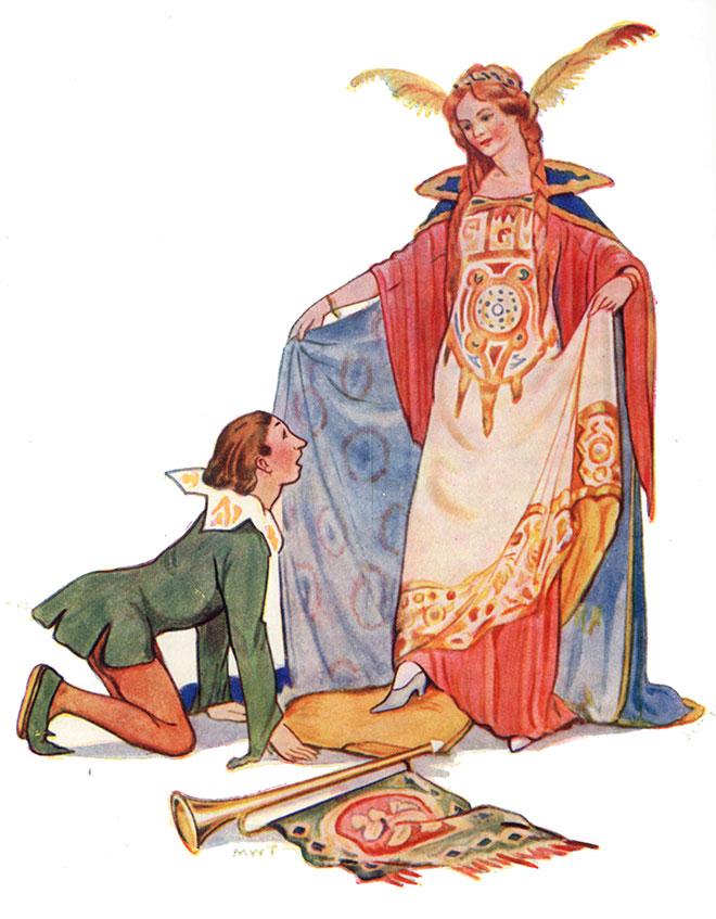 'Cinderella' - Fairy Tales, Margaret Tarrant, 1915.