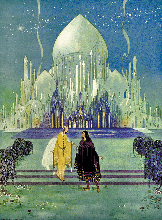 Old French Fairy Tales (Comtesse de Ségur), Virginia Frances Sterrett, 1920.
