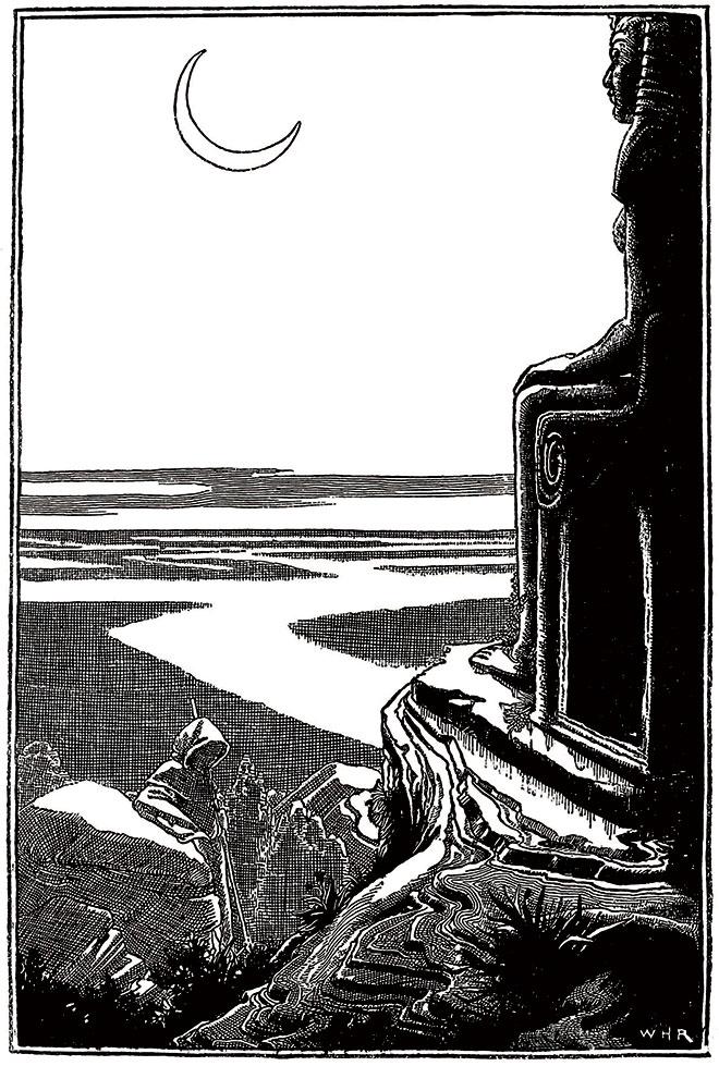 The Poems of Edgar Allan Poe, W. Heath Robinson, 1900.