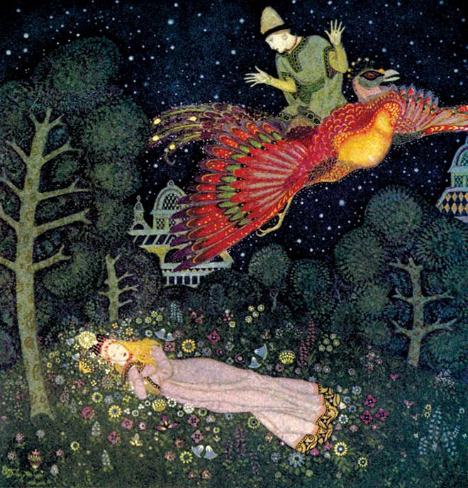 Edmund Dulac's Fairy-Book, Edmund Dulac, 1916.