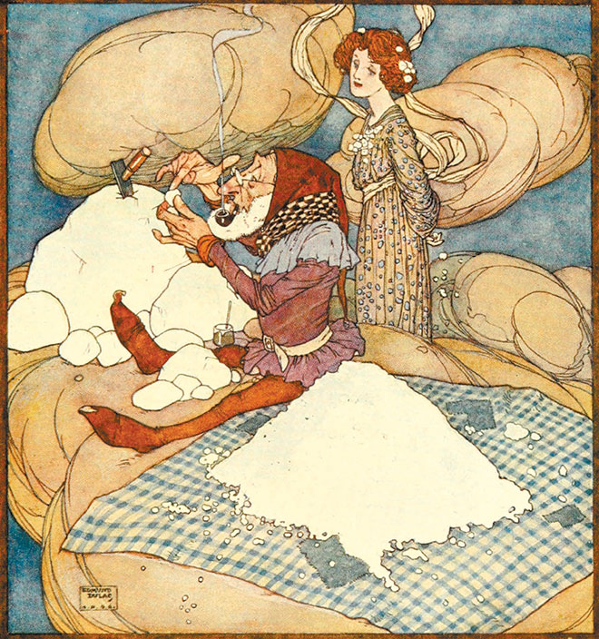 Fairies I Have Met, Edmund Dulac, 1907.