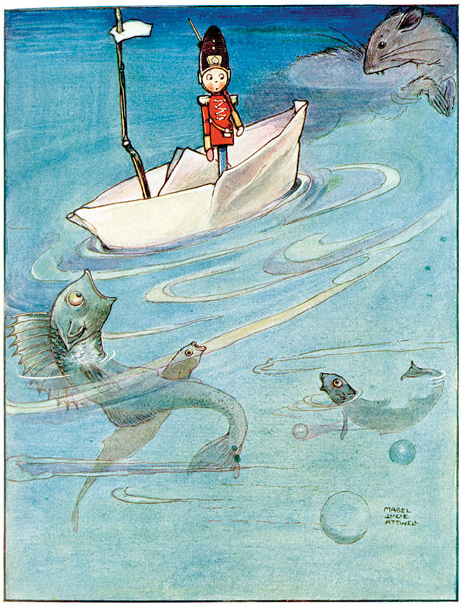 Hans Andersen's Fairy Tales, Mabel Lucie Attwell, 1914.