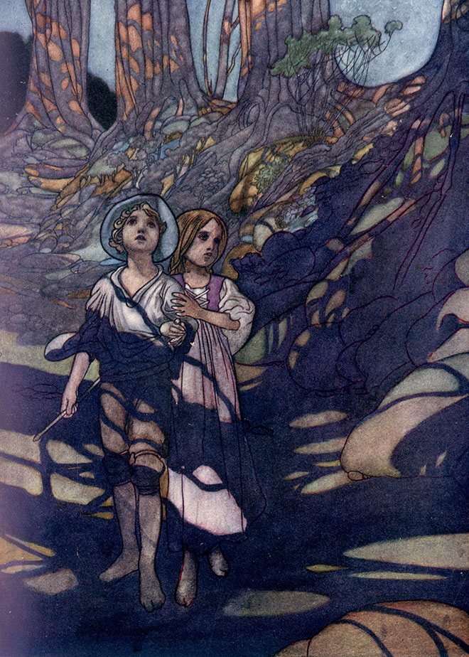 'Hansel and Gretel' - The Big Book of Fairy Tales, Charles Robinson, 1911.