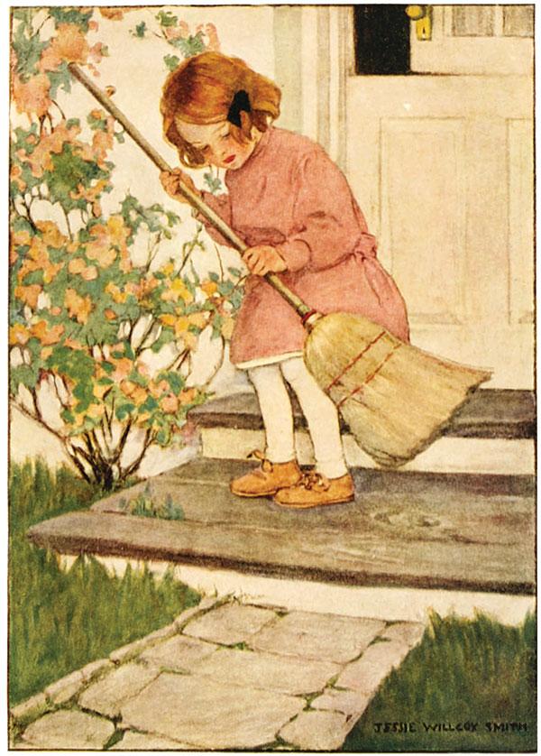 Dream Blocks, Jessie Willcox Smith, 1908.