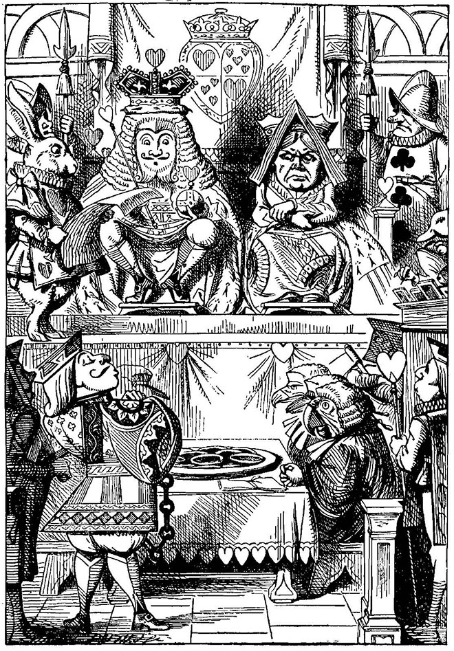 Alice's Adventures in Wonderland, John Tenniel, 1865.