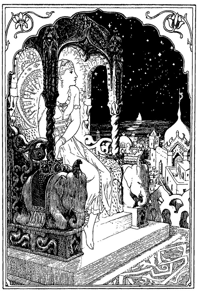Indian Fairy Tales, John D. Batten, 1912.