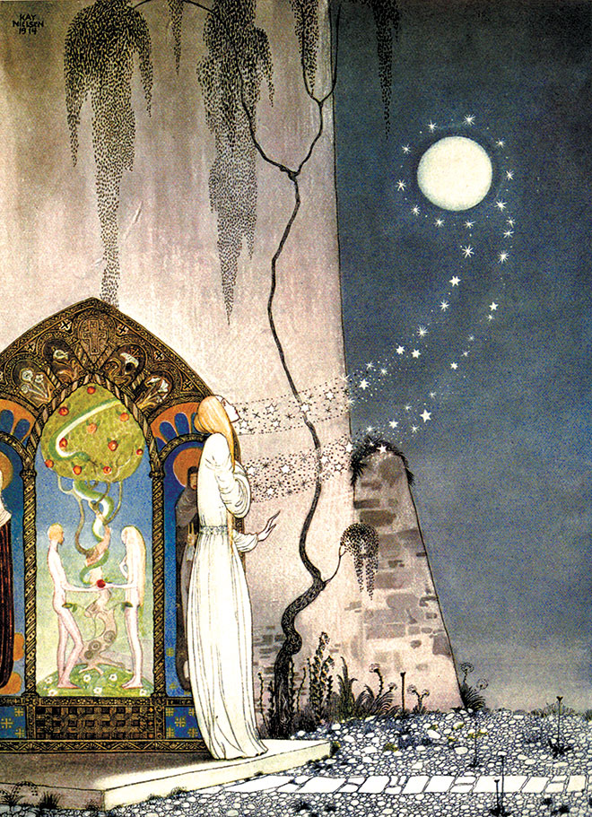 East of the Sun and West of the Moon, Kay Nielsen, 1924.