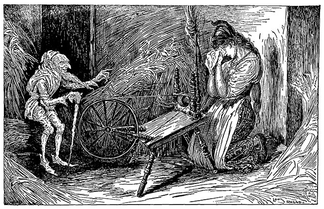 Grimm's Fairy Tales, Louis Rhead, 1917.