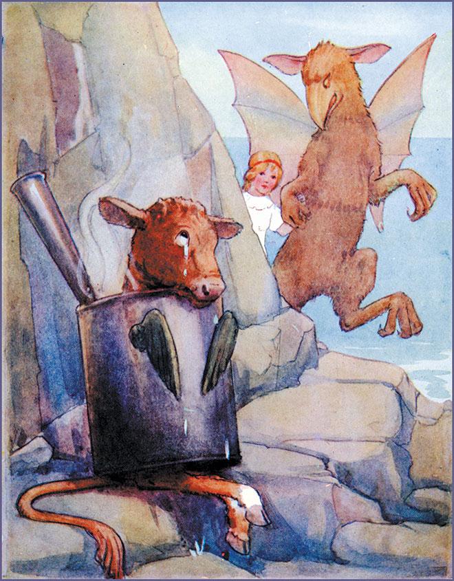 Alice's Adventures in Wonderland, Magaret W. Tarrant, 1916.