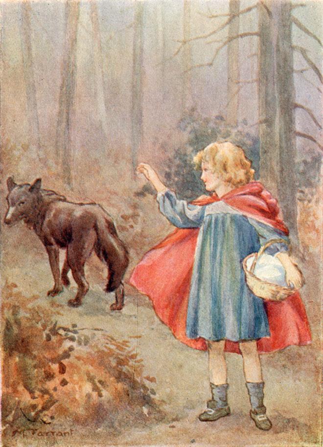 Contes de Perrault, Margaret Tarrant, 1910.
