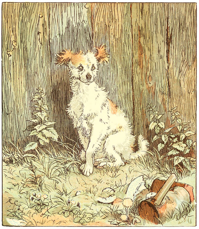 An Elegy on the Death of a Mad Dog, Randolph Caldecott, 1879.
