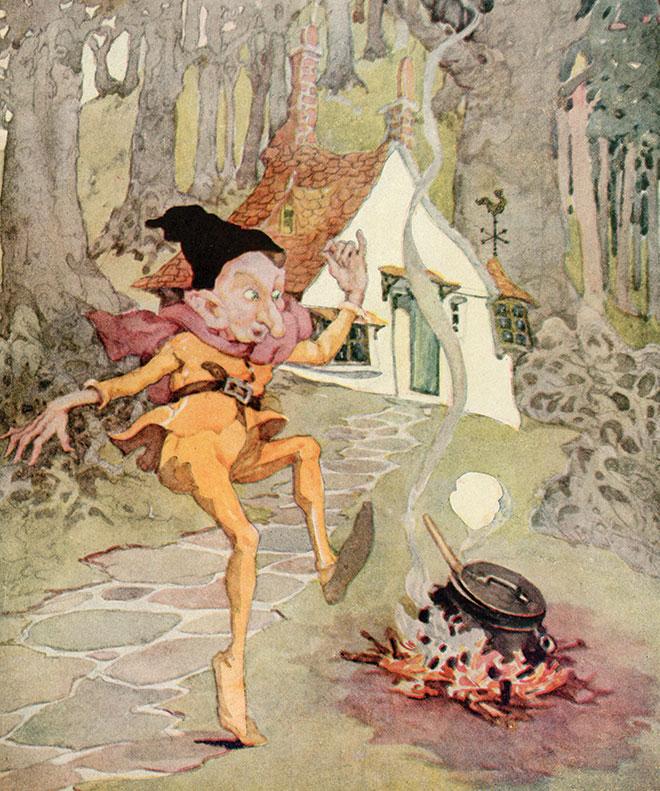 'Rumpelstiltskin' - Old, Old Fairy Tales, Anne Anderson, 1935.