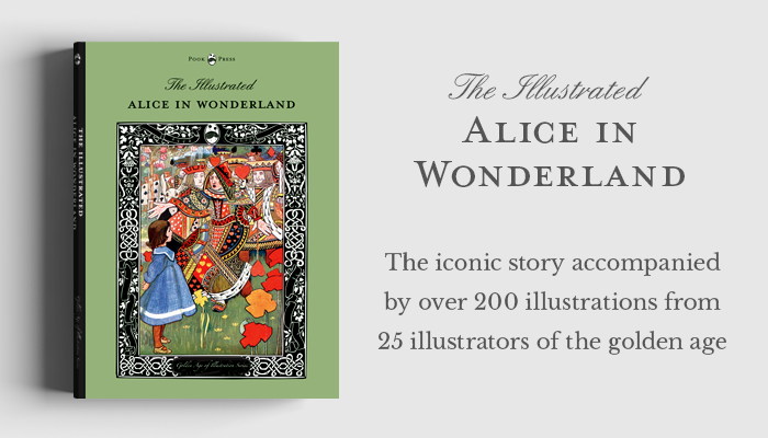 The Illustrated Alice in Wonderland - Shop Now