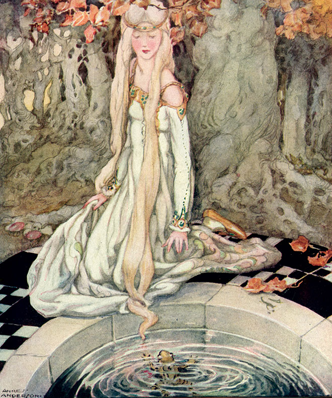 'The Frog Prince' - Old, Old Fairy Tales, Anne Anderson, 1935.