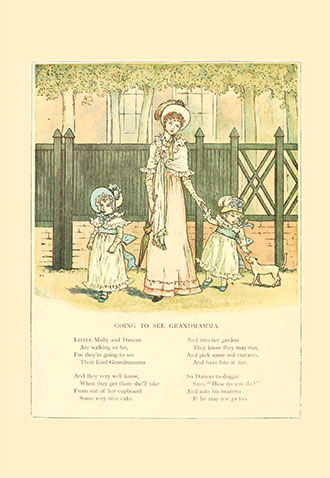 Marigold Garden: Pictures and Rhymes - Illustrated by Kate Greenaway