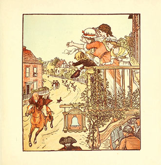 The Diverting History of John Gilpin - Showing How He Went Farther Than He Intended, and Came Home Safe Again - Illustrated by Randolph Caldecott