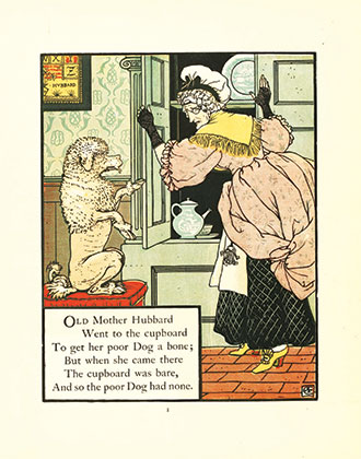 Mother Hubbard Her Picture Book - Containing Mother Hubbard, the Three Bears & the Absurd ABC - Illustrated by Walter Crane