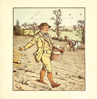 The House That Jack Built - Illustrated by Randolph Caldecott