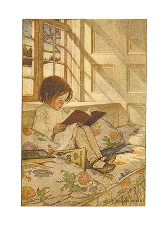 A Child S Garden Of Verses Jessie Willcox Smith