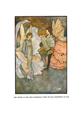 Fairies I Have Met - Illustrated by Edmud Dulac